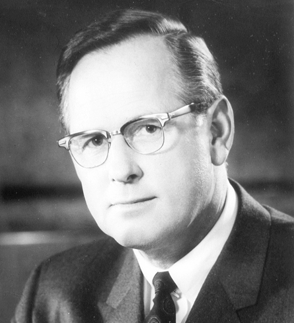 Headshot of former CPFC executive director Donald I. Rice.