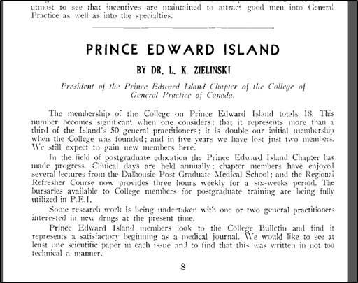 Rapport du président, 1960