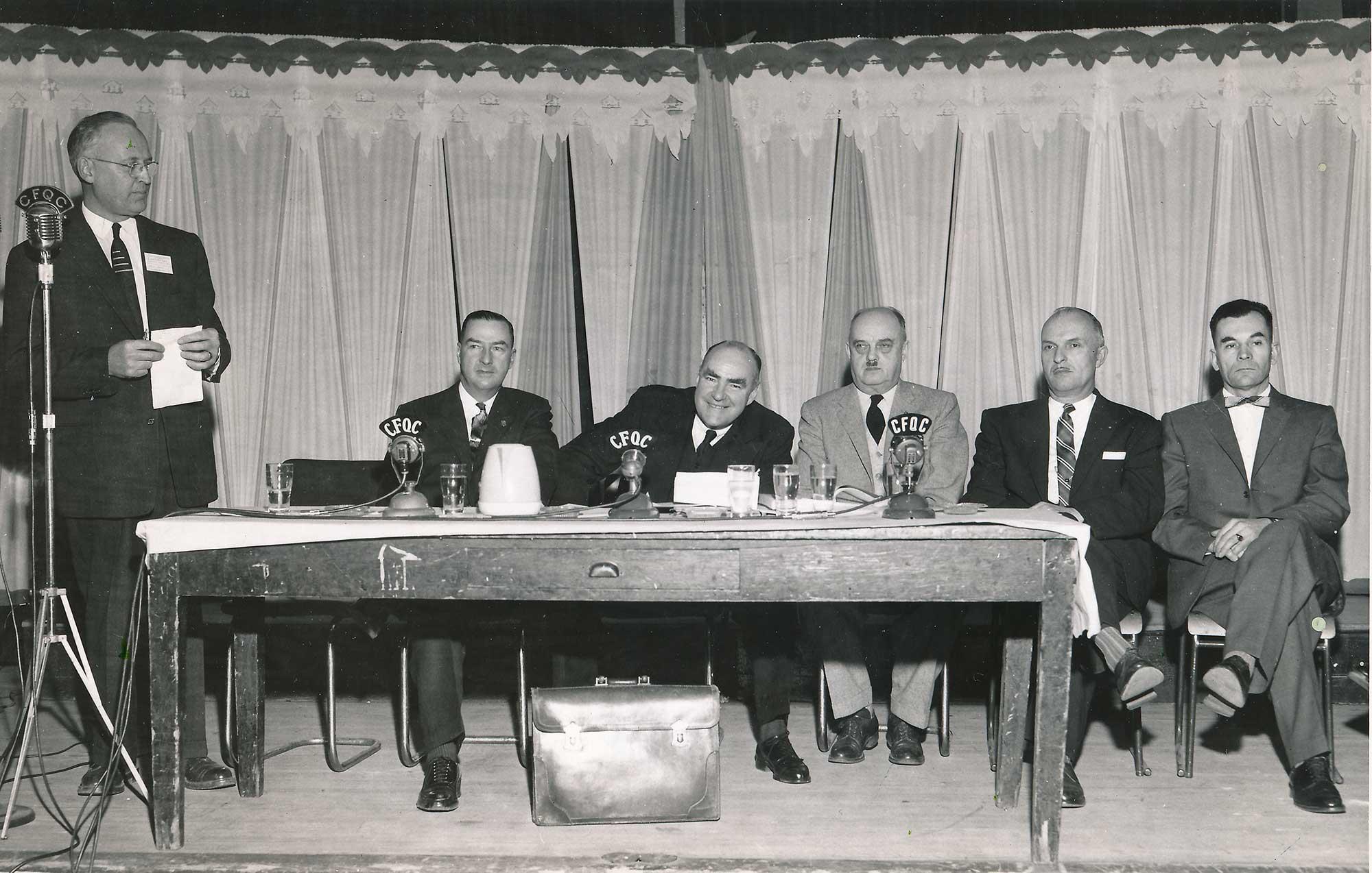 2e congrès annuel <br>Février 1958