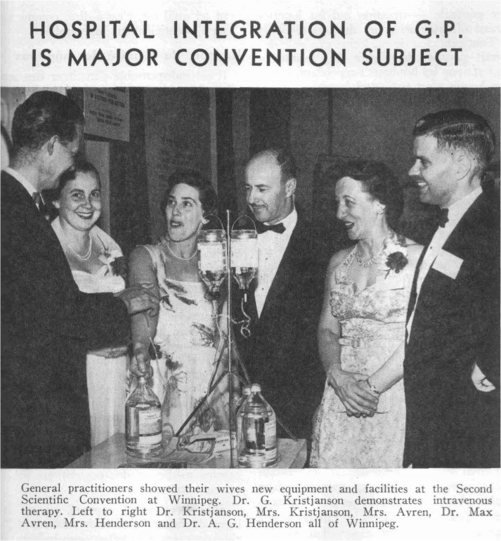 Second  Scientific Convention of the College at Winnipeg, April 14–16, 1958