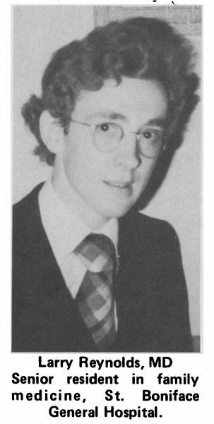 First Murray Stalker Lecture, 1975